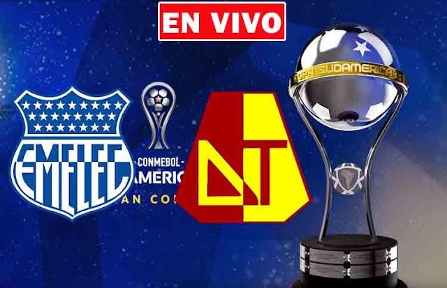 EN VIVO | Emelec vs. Tolima, jornada 5 del Grupo G Copa Sudamericana ¿Dónde ver el partido online gratis en internet?