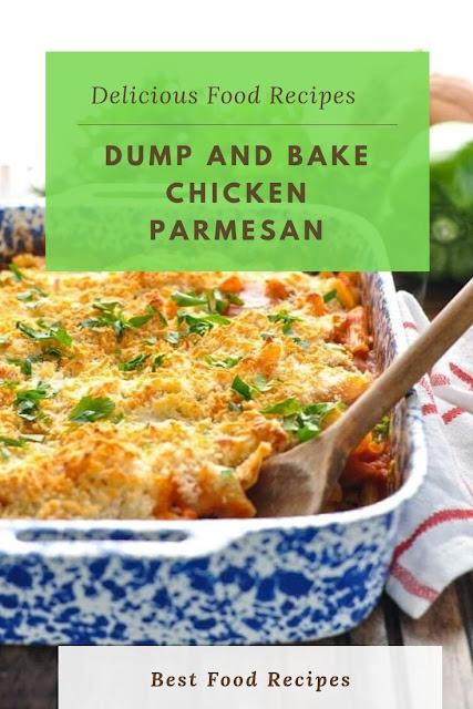 #Dump #and #Bake #Chicken #Parmesan