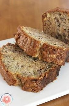 Copycat Starbucks Banana Bread
