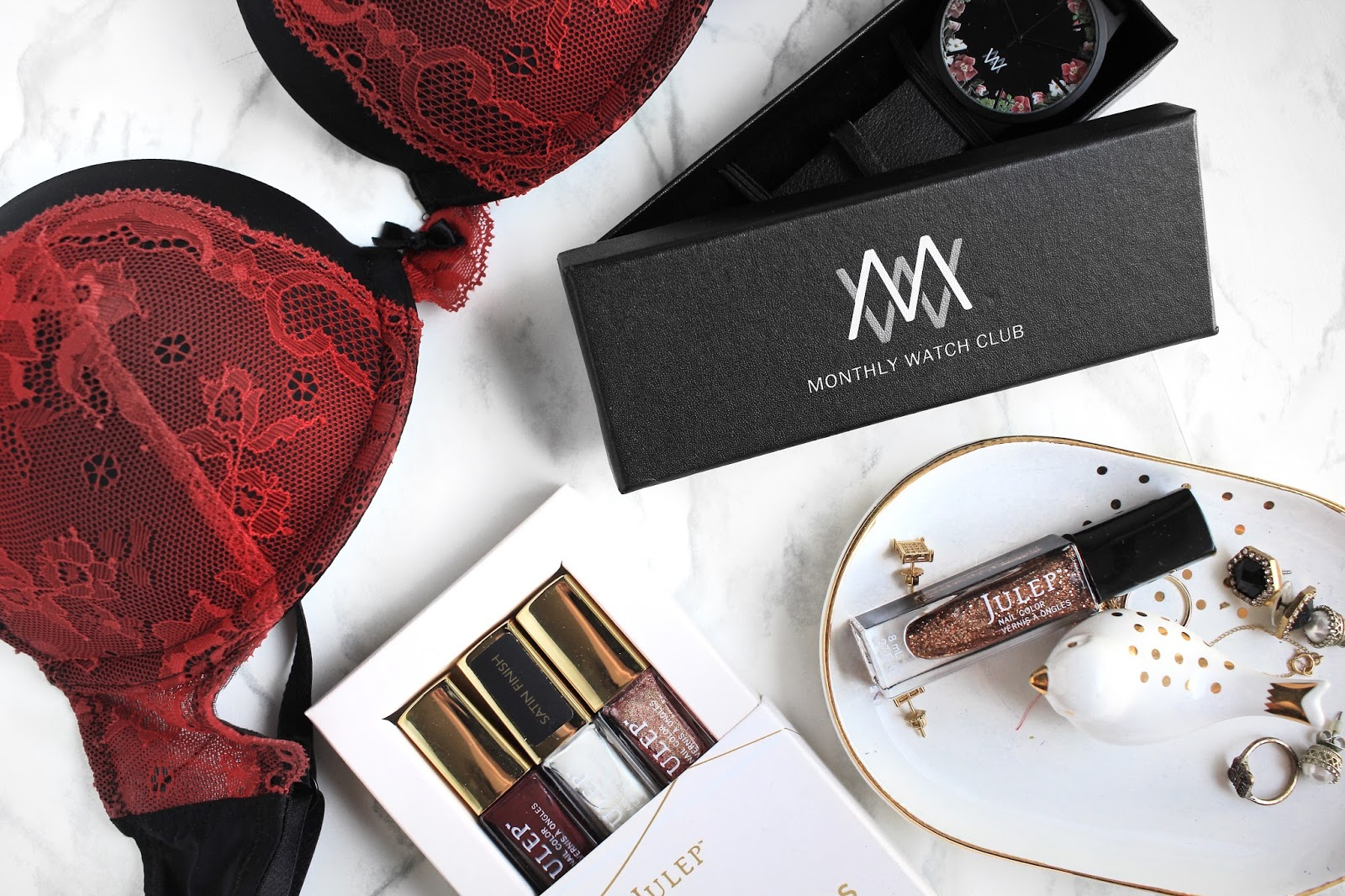 Christmas Gift Ideas: Subscription Boxes   ft. Julep, Monthly Watch Club, MunchPak, AdoreMe, GlossyBox    The Glam Surge