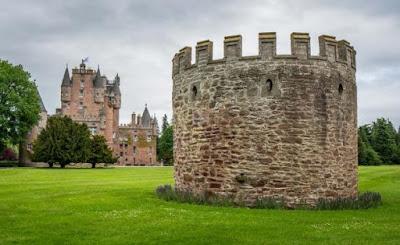 Castello di Glamis, Angus, Scozia.