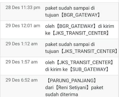Arti JKS Transit Center J&T