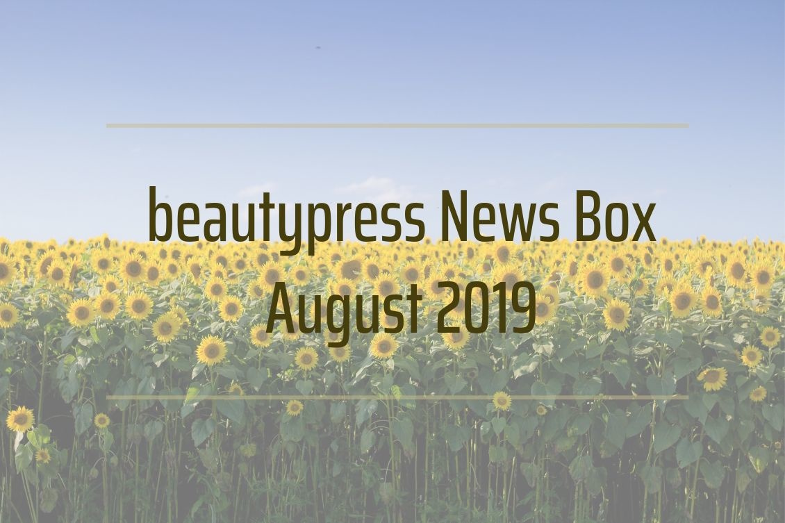 Unboxing Inhalt beautypress News Box August 2019