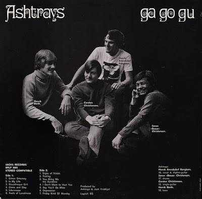 Ashtrays – Ga Go Gu  (1968)