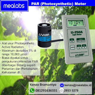 Photosynthetic Active Radiation Sensor , Sensor PAR