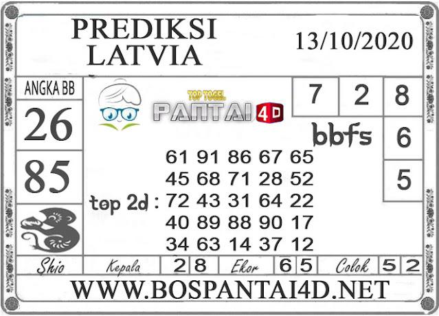 PREDIKSI TOGEL LATVIA PANTAI4D 13 OKTOBER 2020