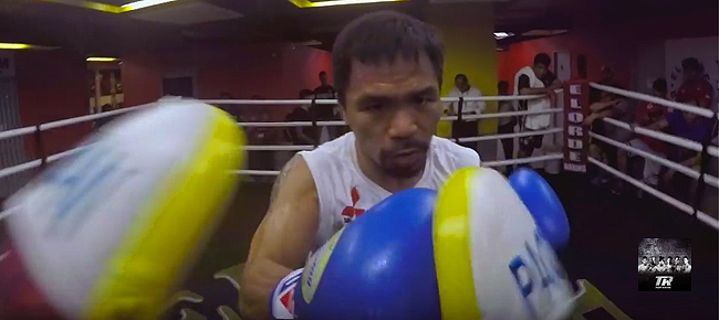 WOW! GoPro with Manny Pacquiao Training Camp (VIDEO)