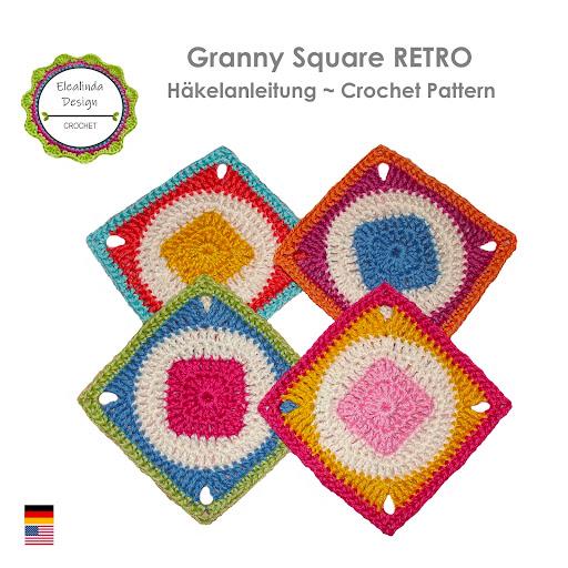 Ebook Granny Square RETRO 1