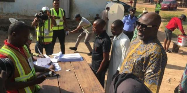 Senator Dino Melaye's Delivers Polling Unit