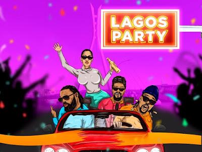 [Music] Admiral C4C  x  Nyanda  x  King Beenie Man  x  Timaya _ Lagos Party