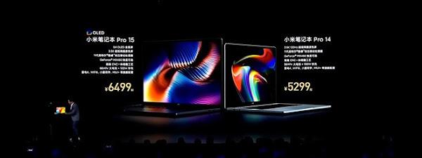 "Xiaomi anuncia portáteis de 15"" e 14"""