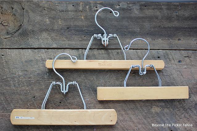 Vintage Wood Hangers