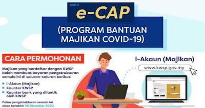 Semakan Status Program Bantuan Majikan COVID-19 Online (e-CAP)