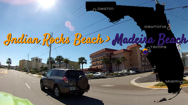 Indian Rocks Beach nach Madeira Beach, Florida USA