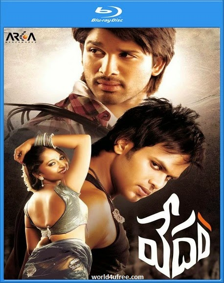 Vedam 2010 Hindi Dubbed Dual BRRip 720p 1GB ESub