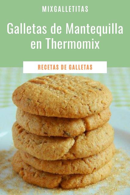 Cómo hacer galletas de mantequilla en thermomix