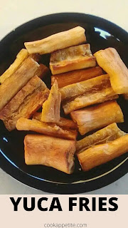 Learn how to make crispy fried cassava fries that are crispy on the outside, soft and tender on the inside. They are easy to make and are a great crowd pleaser.