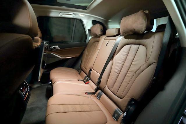 New X5_rear seat