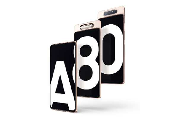SAMSUNG Galaxy A80 announced: 48MP rotating pop-up camera, 6.7-inch FHD+ Super  AMOLED Infinity Display and Snapdragon 730G