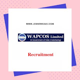 WAPCOS Recruitment 2019 for Water Supply Expert (62 Vacancies)