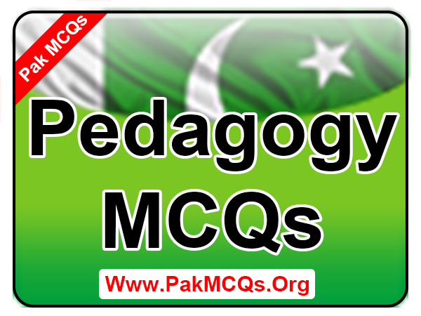 Mcqs pdf pedagogy