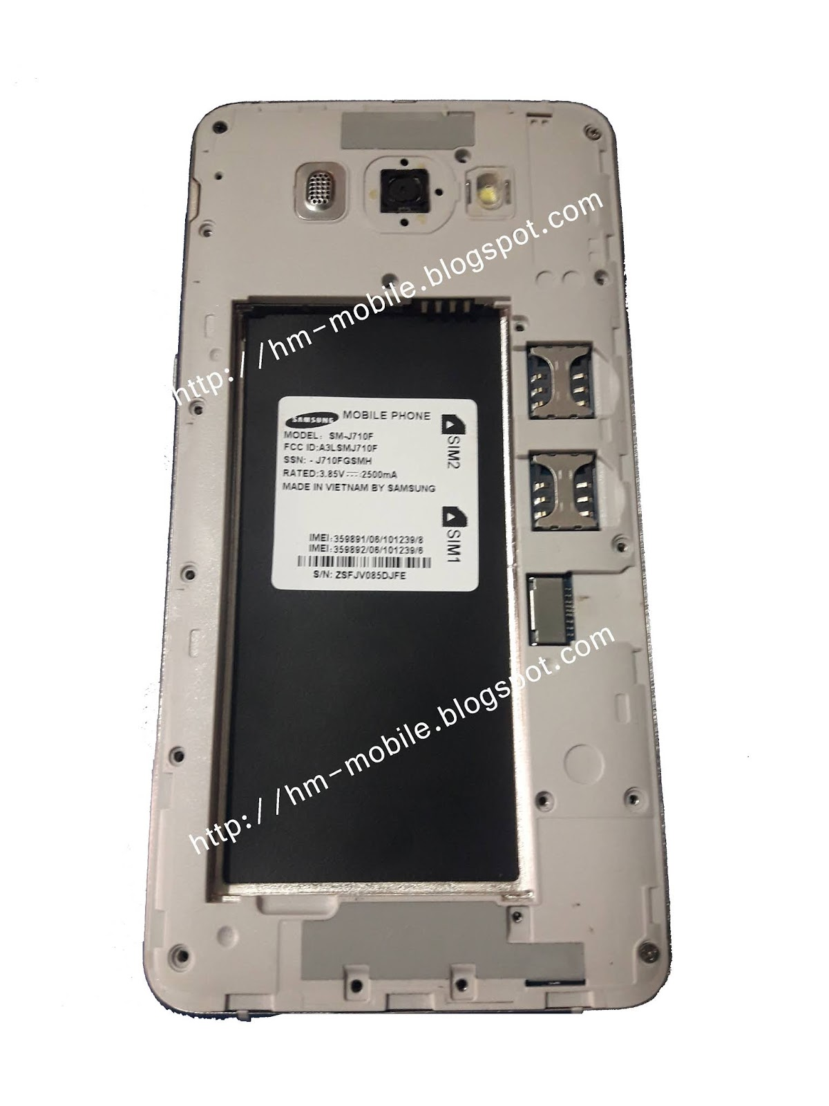 Samsung Copy J710f Flash File MT6572 Cm2 Read Firmware without