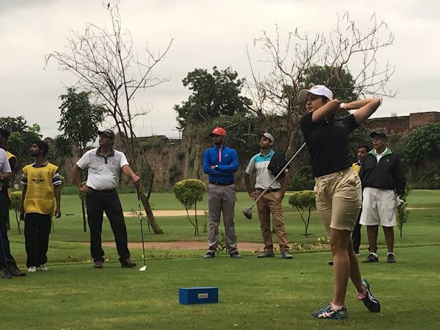 Rakul Preet Singh Playing Golf Photos