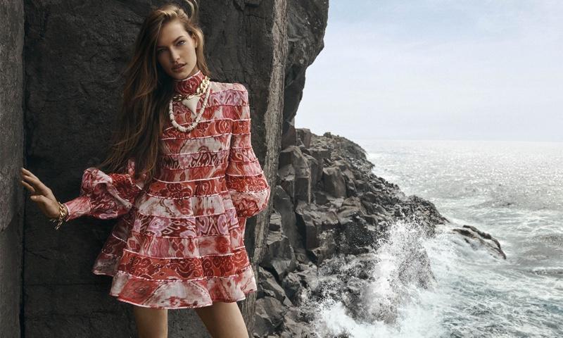 Zimmermann Spring/Summer 2020 Campaign featuring Faretta