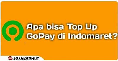 Top Up GoPay di Indomaret