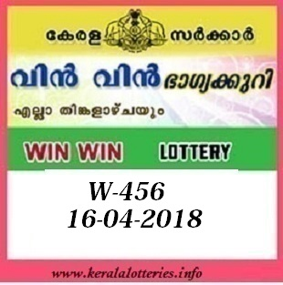 WIN WIN (W-456) LOTTERY RESULT