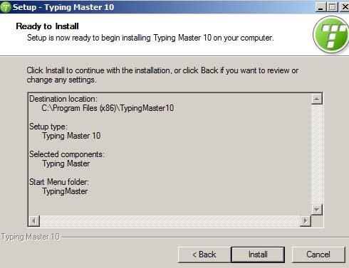 Hướng dẫn cài đặt TypingMaster Pro 10 chi tiết e