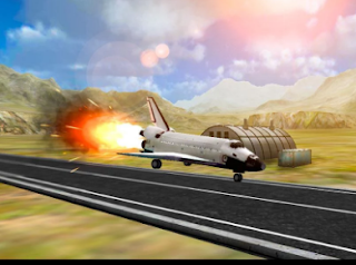 Space Shuttle Landing Sim 3D