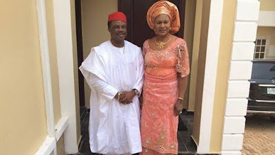 No Hurry In Life, See Throwback Photos Of Governor Willie Obiano and His Wife