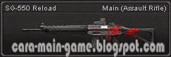 Senjata Point Blank SG-550 Reload