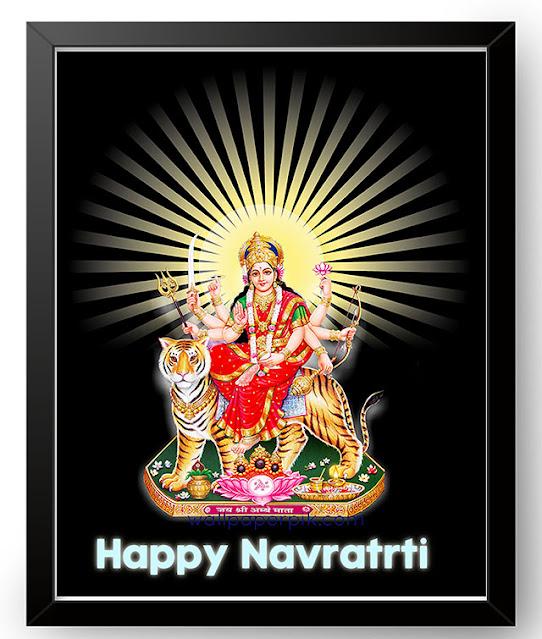 happy navratri image download high res