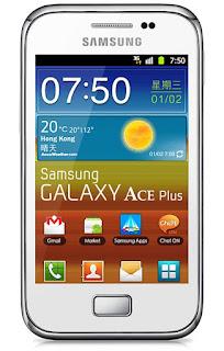 Cara Mudah Reset Samsung Galaxy Ace Plus Lupa pola / Password