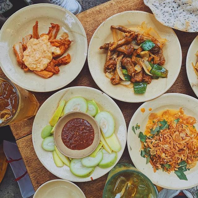 Ăn vặt chân gà sụn gà Bình Thạnh navivu.com