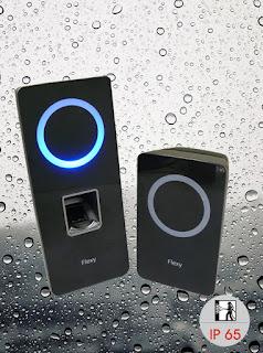 Control de accesos RFID y huella dactilar en tiempo real