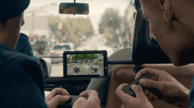 Nintendo joy-con controller