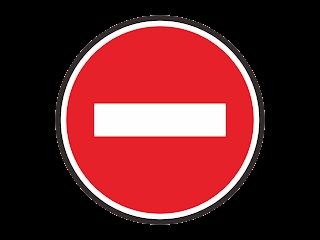Dilarang Masuk Free Vector Logo CDR, Ai, EPS, PNG