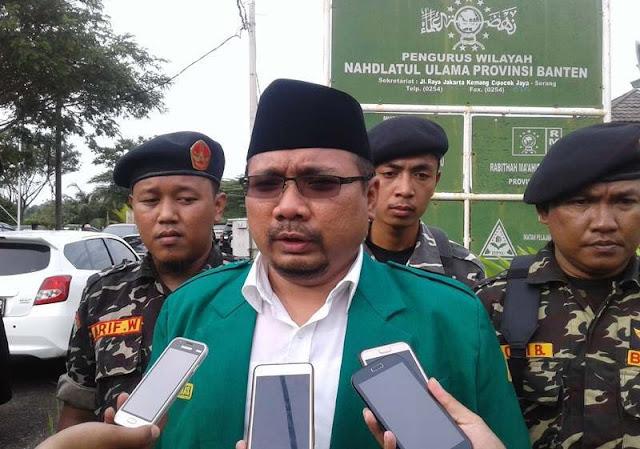 Ketum GP Ansor: Banser Serbu Rumah Ketua FPI DKI itu Fitnah dan Adu Domba