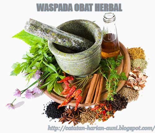 Kiat Aman Mengkonsumsi Obat Herbal Tradisional