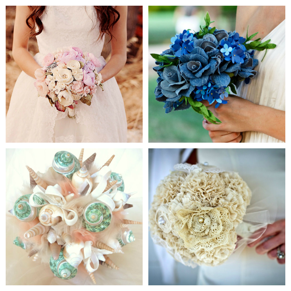 weddings the joys and jitters wedding accessories alternative bridal bouquet. Black Bedroom Furniture Sets. Home Design Ideas