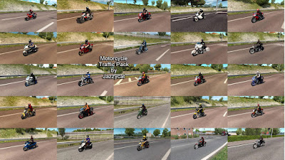 Traffic Motor Pack by Jazzycat v3.8.5 - ETS2 1.40