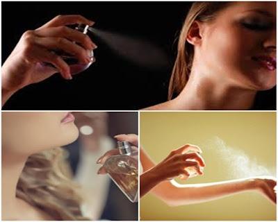 tips awet pakai parfum