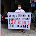 Nurse, Nagpagawa ng Tarpaulin para sa mga Tsismosang Ka-Barangay