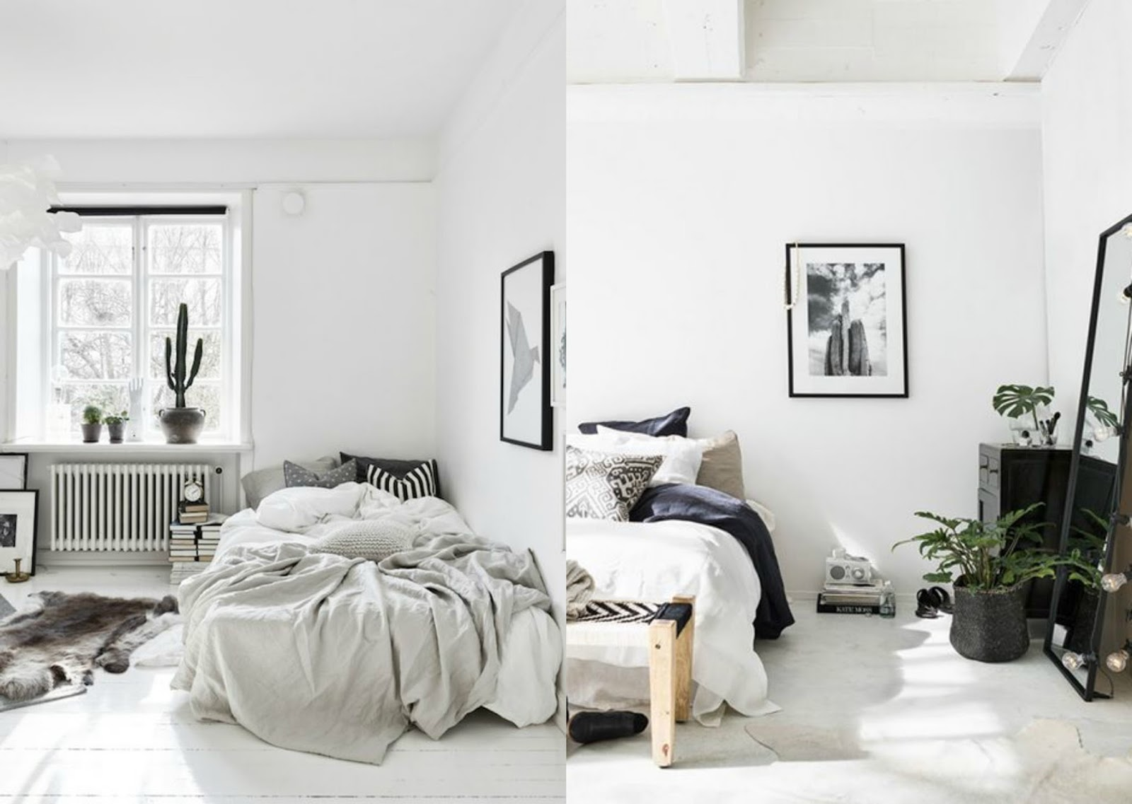 Bedroom Inspiration Scandinavian