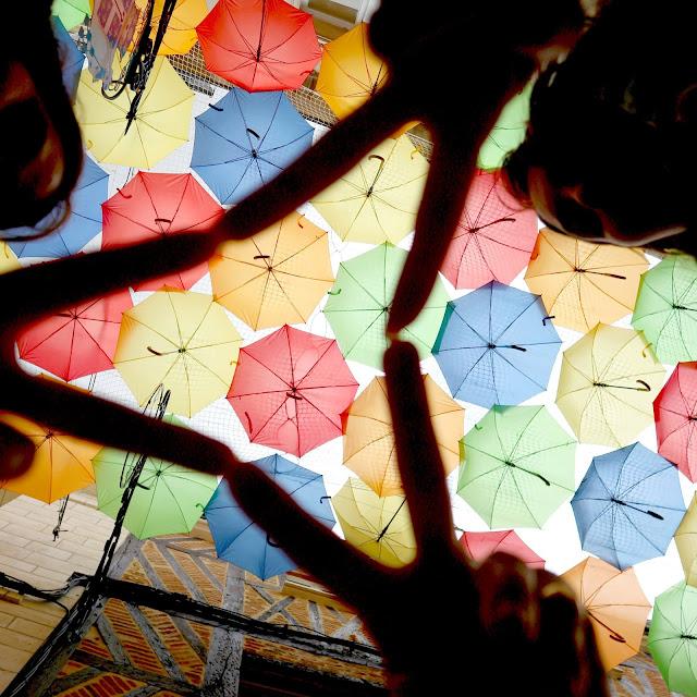 Les parapluie de Laon