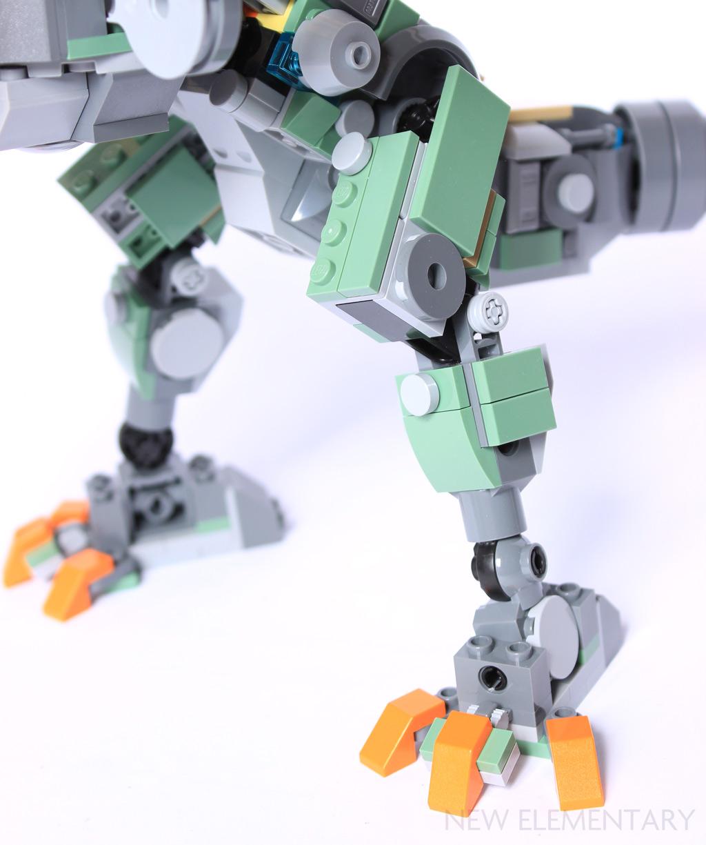 LEGO® Overwatch: Bastion alternate model   New Elementary, a LEGO