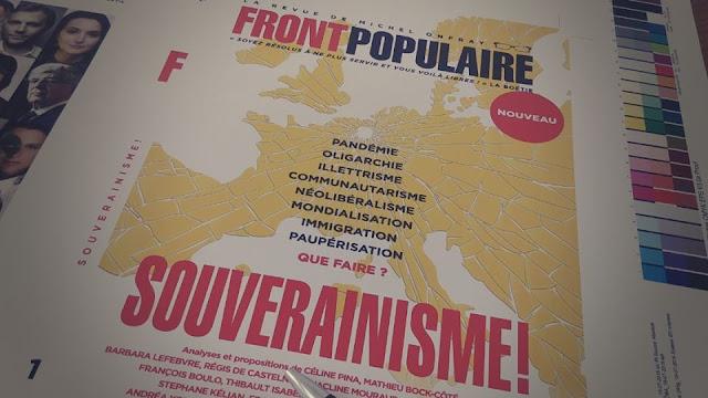 Front Populaire numéro 1 revue